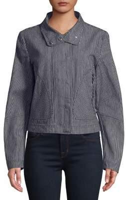 T Tahari Cristina Pinstripe Jacket