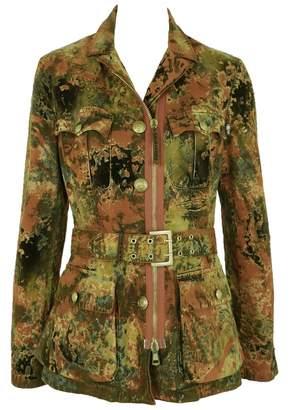 Jean Paul Gaultier Khaki Cotton Jackets