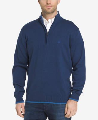Izod Men's Quarter-Zip Sweater