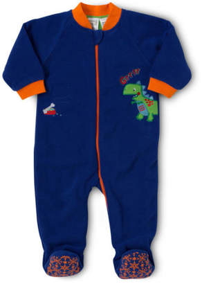 Snugtime NEW Lined Polar Fleece Sleeper Navy