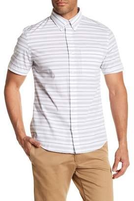 Jack Spade Caufield Stripe Short Sleeve Shirt