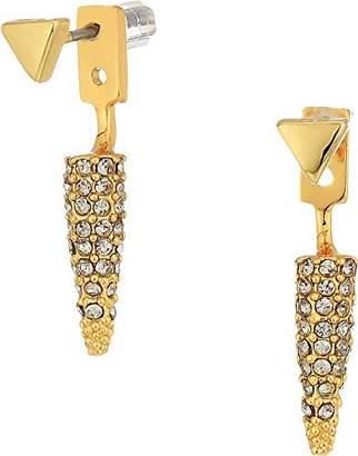 Rebecca Minkoff Women's Pave Spike Earrings