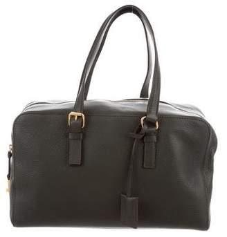 Calvin Klein Collection Grained Leather Shoulder Bag