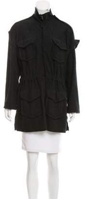 Lanvin Long Sleeve Wool Jacket