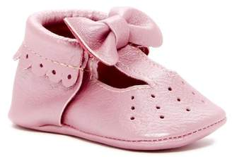 First Steps T-Strap Bow Mary Jane Moccasin (Baby & Toddler)