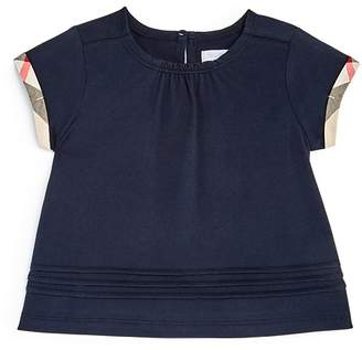 Burberry Girls' Gisselle Pleated Tee - Baby