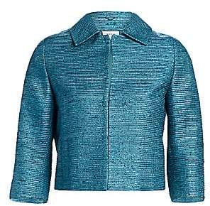 Akris Punto Women's Sleeveless Zip-Front Silk Ottoman Dress