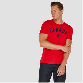 Joe Fresh Men's Canada Short Sleeve Tee