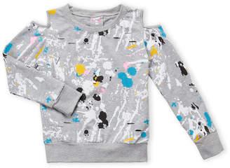Flowers by Zoe Girls 7-16) Splatter Sweatshirt