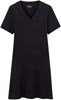 A.P.C. Jenn Dress in Noir