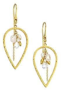 Gurhan Women's Delicate Dew 24K Yellow Gold Multi-Stone Cluster Earrings