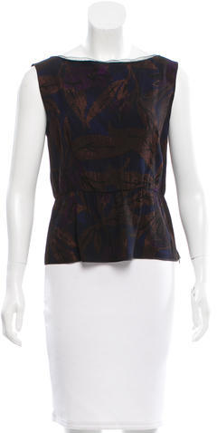Marc Jacobs Marc Jacobs Mesh-Trimmed Sleeveless Top w/ Tags