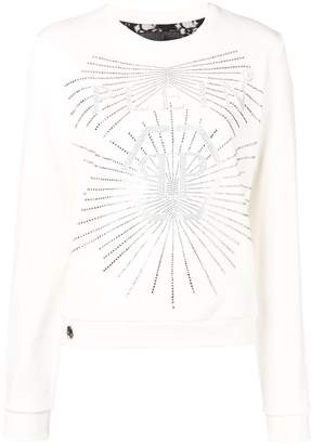 Philipp Plein logo print sweater