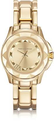 Karl Lagerfeld 7 36 mm Gold IP Stainless Steel Unisex Watch