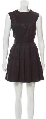 MICHAEL Michael Kors Pleated Textured Dress