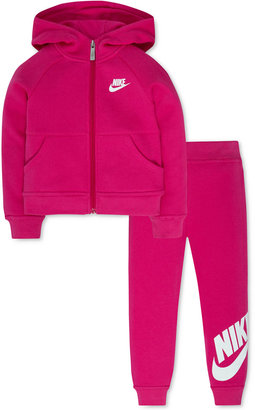 Nike 2-Pc. Hoodie & Jogger Pants Set, Toddler & Little Girls (2T-6X) $54 thestylecure.com