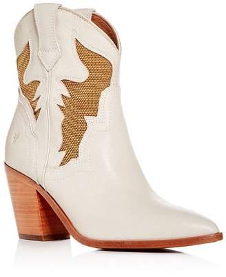 Frye Women's Faye High-Heel Western Boots