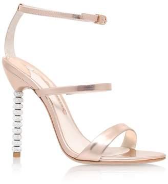 Sophia Webster Rosalind Crystal-Embellished Leather Sandals