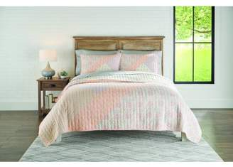 Better Homes & Gardens Better Homes and Gardens Block Patchwork Quilt, King