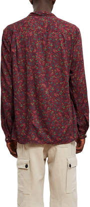 Opening Ceremony Gitman Brothers For Printed Rayon Long-Sleeve Shirt