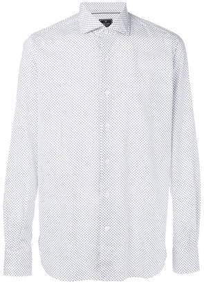 Orian micro floral print shirt