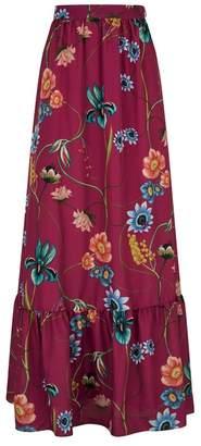 Borgo De Nor Floral Maxi Skirt