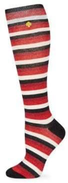 Kate Spade Stripe Lurex Socks