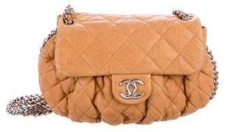 Chanel Medium Chain Around Messenger Bag Tan Medium Chain Around Messenger Bag