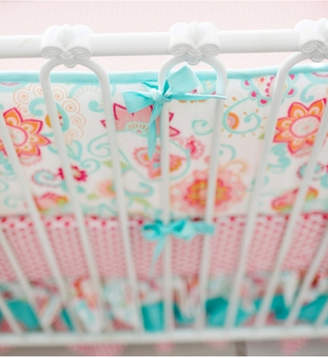 My Baby Sam Gypsy Baby Crib Bumper