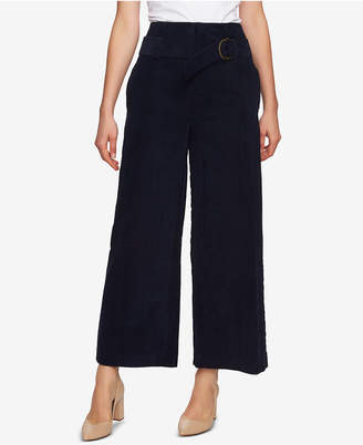 1 STATE 1.state High-Waist Wide-Leg Corduroy Pants