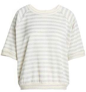 Kain Label Printed Cotton-Blend Terry Top