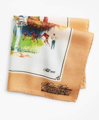 Brooks Brothers Limited Edition Archival Collection Fall 1978 Cashmere-Silk Pocket Square