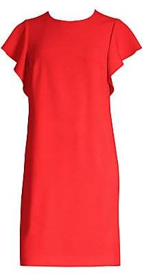 Escada Women's Dlat Ruffle-Side Shift Dress