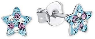 Prinzessin Lillifee Children 925 Silver Multicolour Crystal