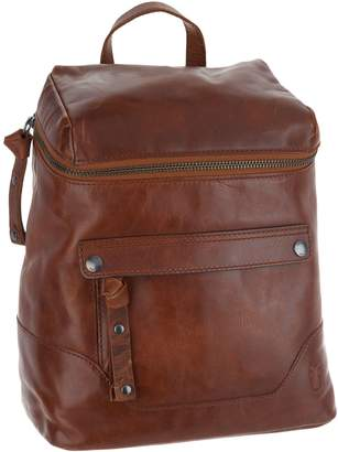 Frye Leather Melissa Zip Backpack