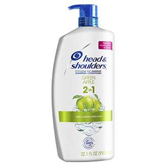 Head & Shoulders Head and Shoulders Green Apple 2-in-1 Anti-Dandruff Shampoo + Conditioner 32.1 Fl Oz (Pack of 4)