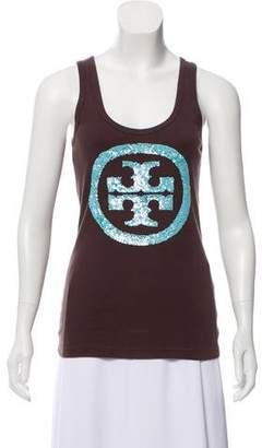 Tory Burch Embellished Tank Top