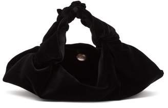 The Row Ascot small velvet bag