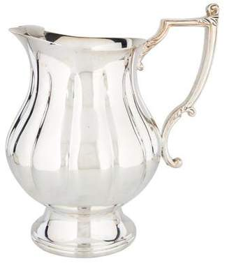 Waterford Lobed Silverplate Pitcher