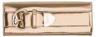Gucci Metallic Romy Clutch