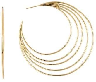 Gorjana Casey Profile 67mm Hoop Earrings
