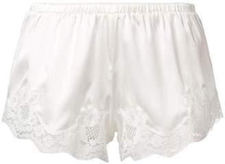 Dolce & Gabbana lace nightwear shorts