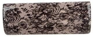 Jimmy Choo Printed Lace Clutch