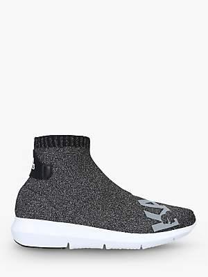 Karl Lagerfeld Paris Vitesse Sock Trainers, Dark Grey
