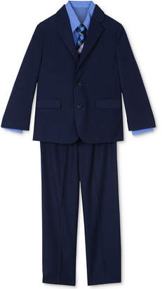 Nautica 4-Pc. Suit Jacket, Pants, Shirt & Plaid Tie Set, Toddler Boys