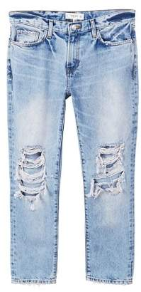 MANGO Faded relaxed jeans