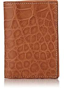 Barneys New York Men's Alligator Folding Card Case - Beige, Tan