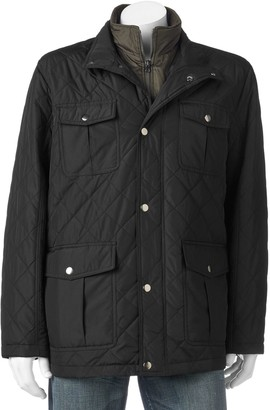 London Fog Tower By Big & Tall Tower by Quilted Field Coat