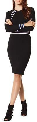 Karen Millen Sporty Striped Detail Sweater Dress