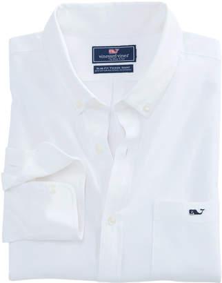 Vineyard Vines Garment Dyed Oxford Slim Stretch Tucker Shirt